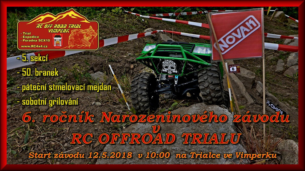 Závody v RC Off Road Trialu