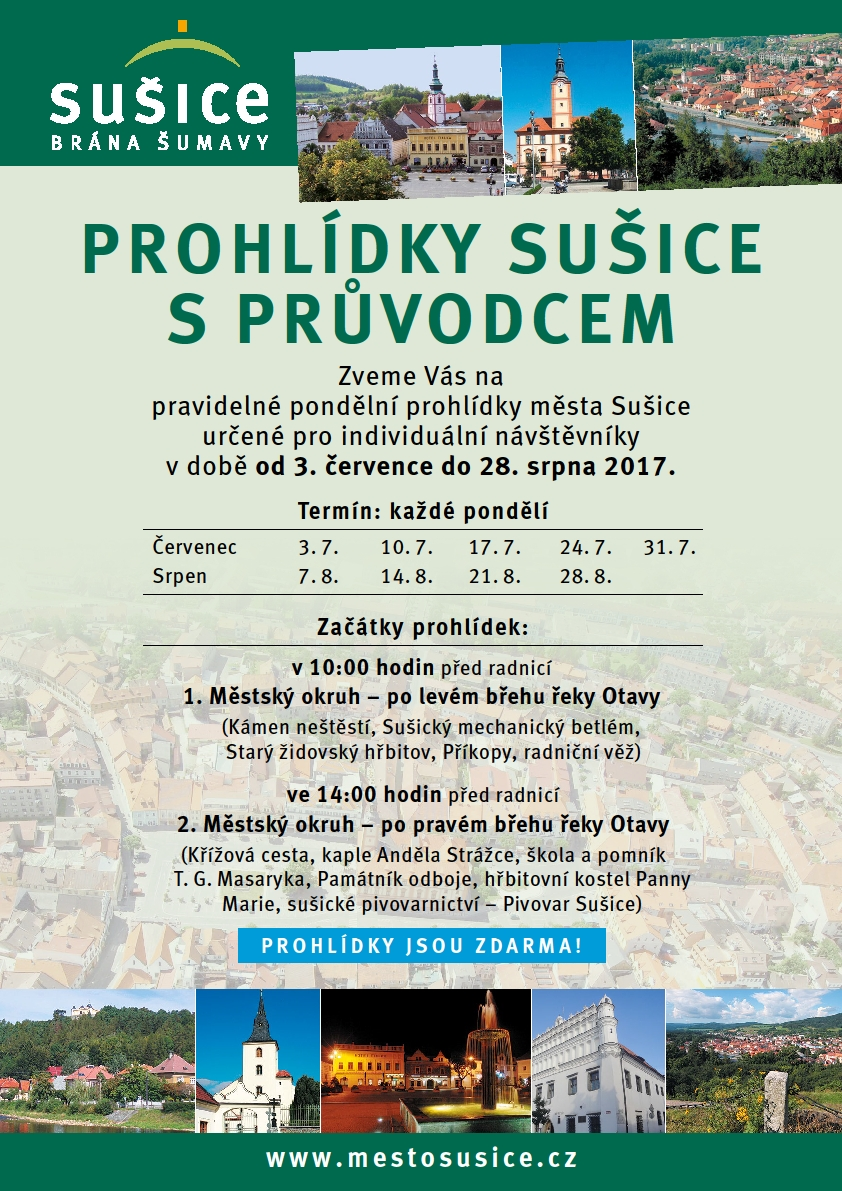 prohlidky susice 2017